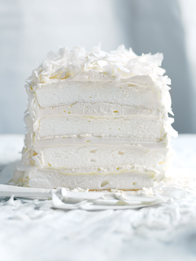 HAVE YOUR CAKE COCONUT LAYER MERINGUE CAKE