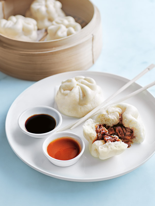 ASIAN INPSIRED CHINESE PORK BUNS