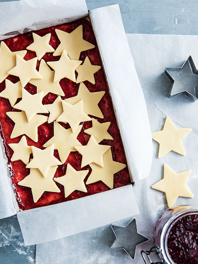 Buttery shortbread teamed with tartly sweet raspberry jam… this ...