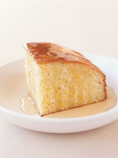 coconut and lemon syrup cake