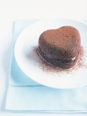 chocolate mousse hearts