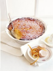 citrus delicious pudding