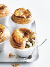chicken and chive pot pies
