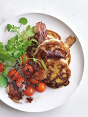 Classic corn fritters