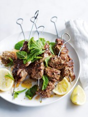 fennel, cumin and coriander lamb skewers
