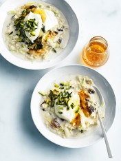 apple and almond bircher muesli