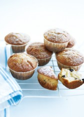 banana and choc chip muffins