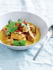chicken and cashew massaman curry