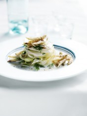 crispy whitebait with shaved fennel