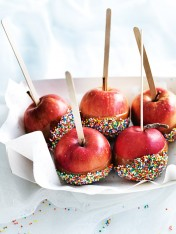 halloween mini caramel toffee apples