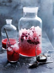 pomegranate and blood orange punch