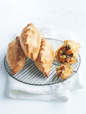 roast vegetable pasties