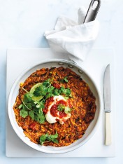 sweet potato and chilli hash browns