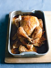 thyme and garlic roasted chicken