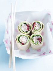 turkey and cream cheese rolls