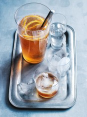 whisky and vanilla soda