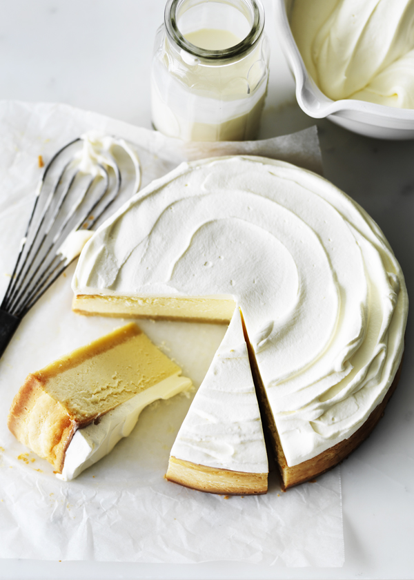 Classic lemon cheesecake by Donna Hay on @thouswellblog