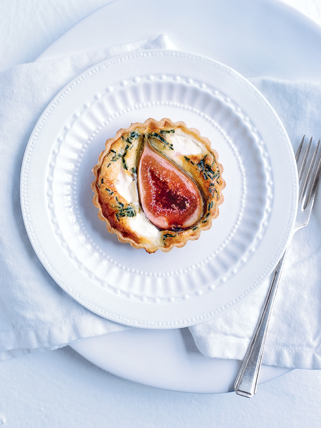 Fig And Goats Cheese Tart | Donna Hay