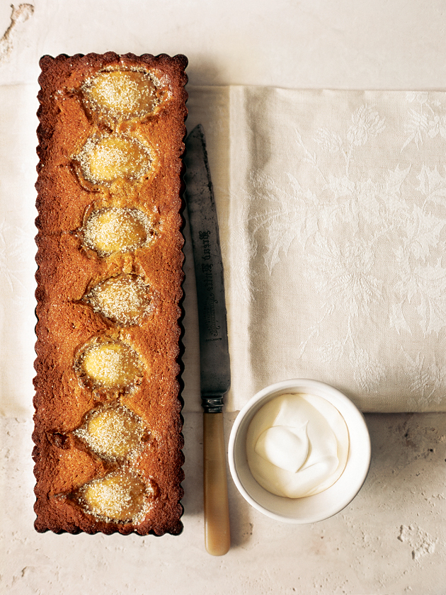 Pear And Almond Tart   Donna Hay