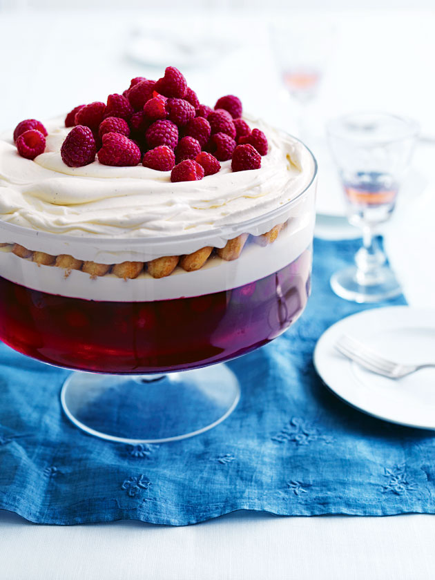 Donna Hay: Raspberry and White Chocolate Trifle | Melissa Poppins