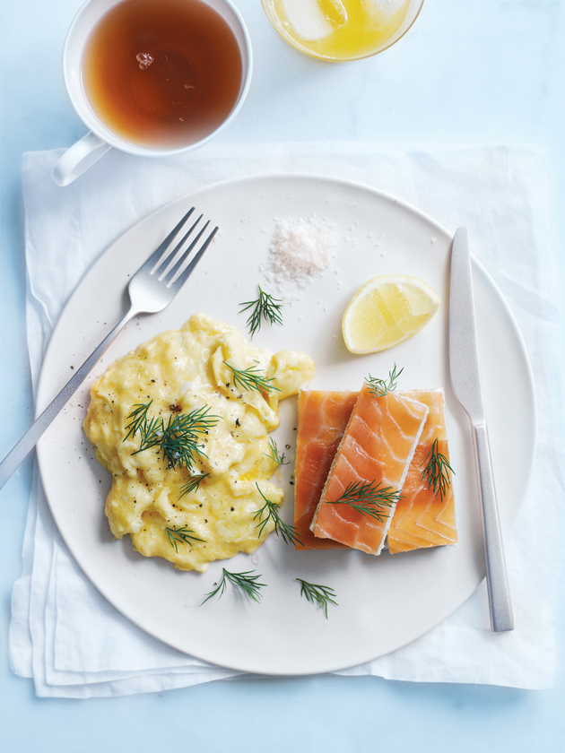 Scrambled Eggs With Smoked Salmon Fingers | Donna Hay