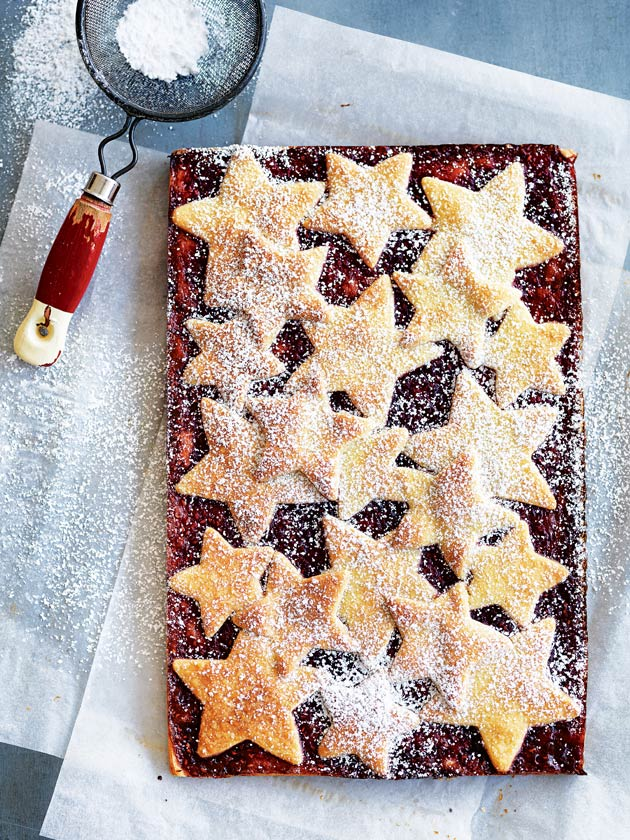Shortbread And Raspberry Slice | Donna Hay