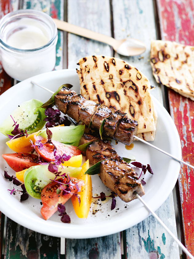 Spiced Lamb Skewers | Donna Hay