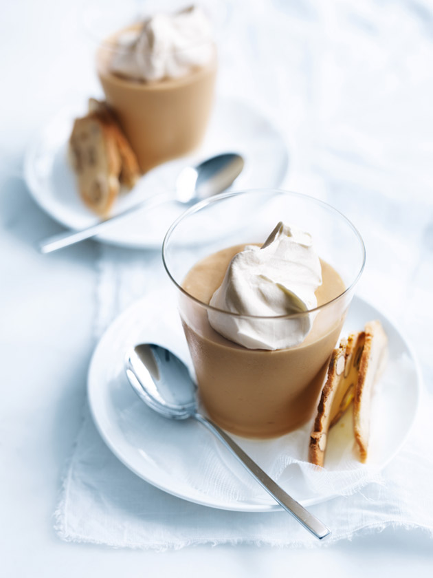 White Chocolate And Salted Caramel Mousse | Donna Hay