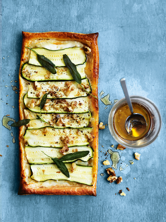 gorgonzola honey leek tart recipes dishmaps gorgonzola honey leek tart ...