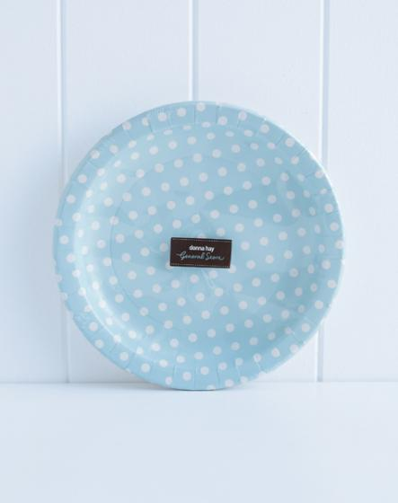 Polka Dot Paper Plates Red Donna Hay
