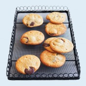 vintage-inspired rectangular cooling rack – medium