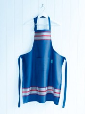 cotton adults' apron – nautical