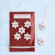 ceramic christmas tags