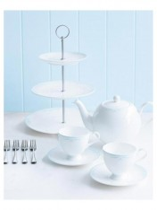 modern nostalgia signature high tea set