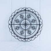 vintage-inspired cooling rack – daisy