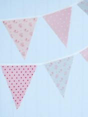 bunting – sweet floral