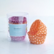 polka dot cupcake papers