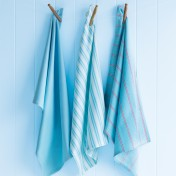 tea towel set – pale blue