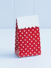 party treat boxes – polka red