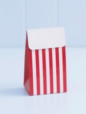 party treat boxes – red stripes