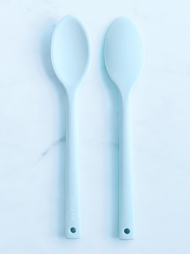 silicone cooks spoon - blue