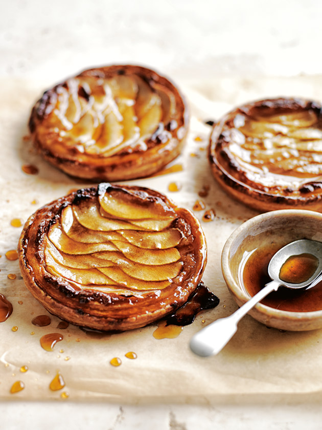 ALMOND AND PEAR TARTS BITE-SIZE DESSERTS TO SATISFY YOUR SWEET TOOTH