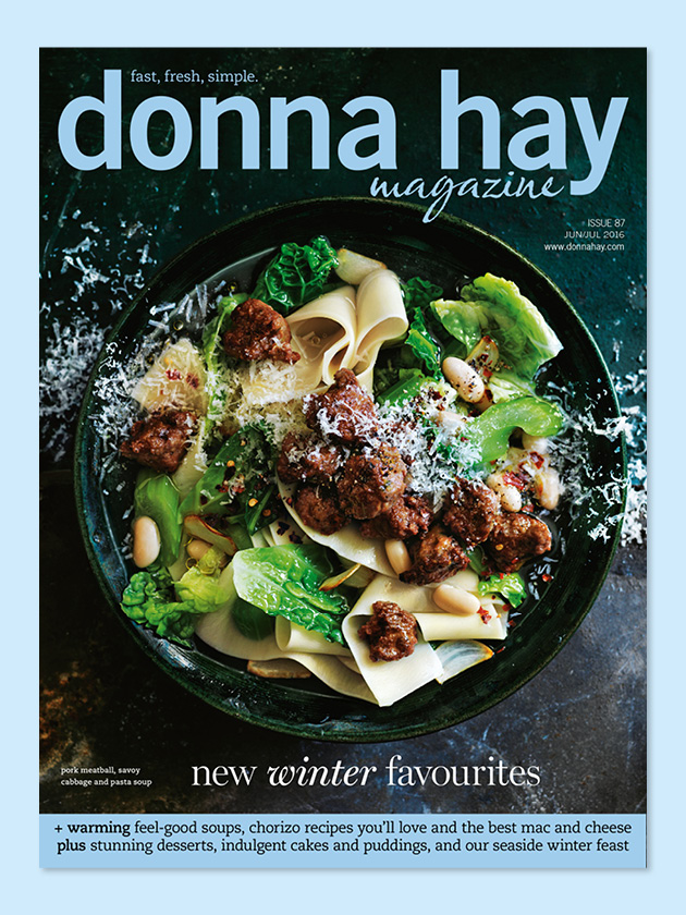 WARMING WINTER ISSUE TAKE A PEEK AT OUR NEW ISSUE: COMFORTING SOUPS, SIMPLE PASTAS AND THE MOST INSPIRED DESSERTS